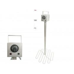 Medus dekristalizators, 800W, diametrs - 25cm, Lyson Optima