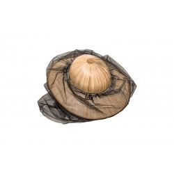 Biškopja cepure - platmale ar sietu