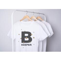 T-krekls Bkeeper, balts, S-XXXL