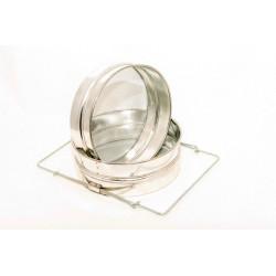 Medus filtrs dubultais, ner. metāla, 0.8x1.6, izliekts